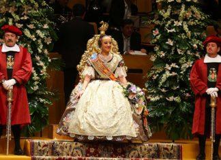 Falleras Mayores de Valencia de la última década
