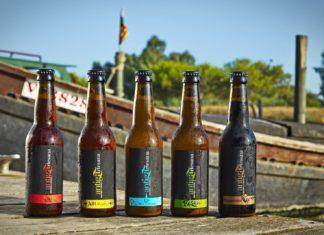 Inma y Antonio son dos de los creadores de esta marca de cerveza artesanal