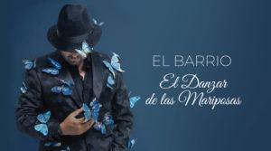 """Portada del disco """"El Danzar de las Mariposas"""" del grupo El Barrio"""