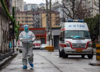 Calles de Wuhan, epicentro de la epidemia del coronavirus (EFE)