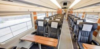 Vagón Preferente de un tren Euromed