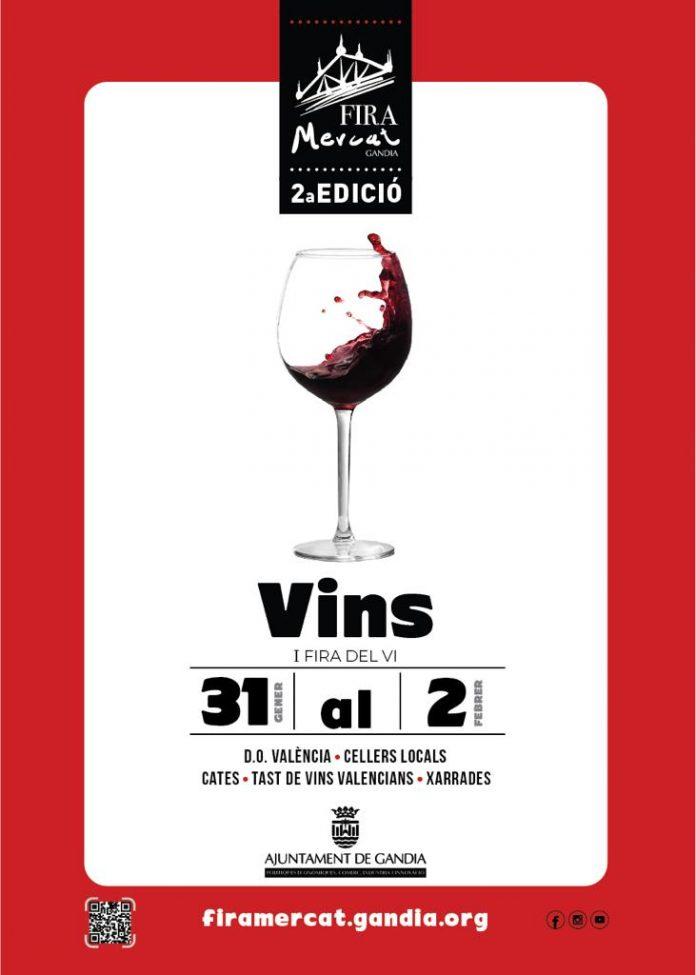 I Fira del Vi a Gandia amb D.O. València i cellers locals