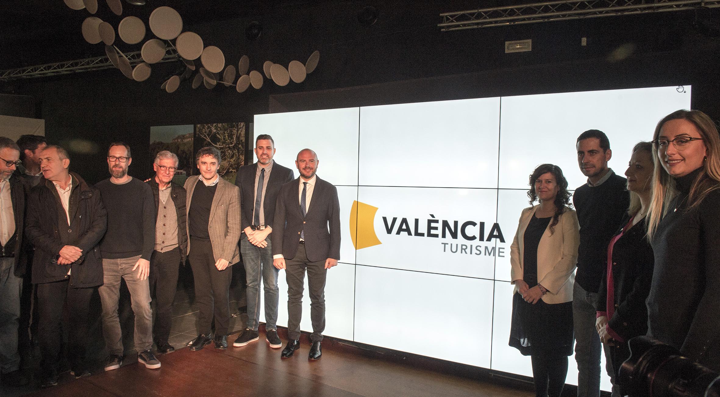 Presentación de la nueva imagen de València Turisme
