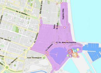 Valencia se cierra al tráfico por el arranque de Fallas: consulta horarios y calles cortadas