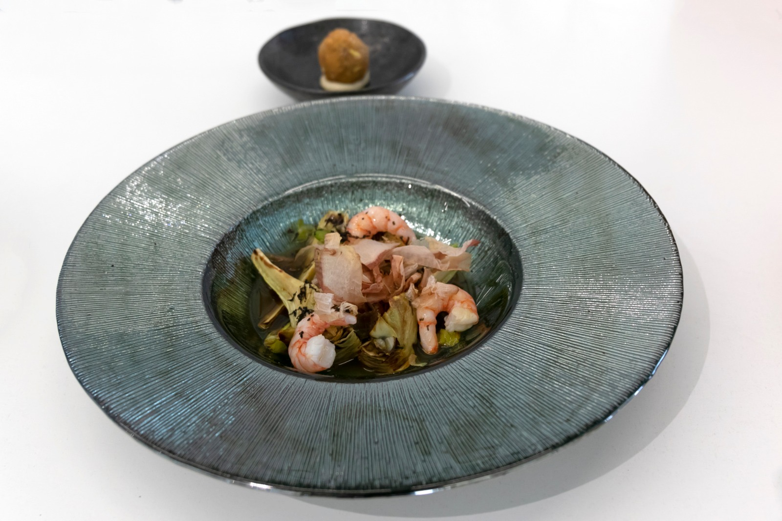 Segon plato classificat al concurs gastronòmic de la tòfona d'Andilla