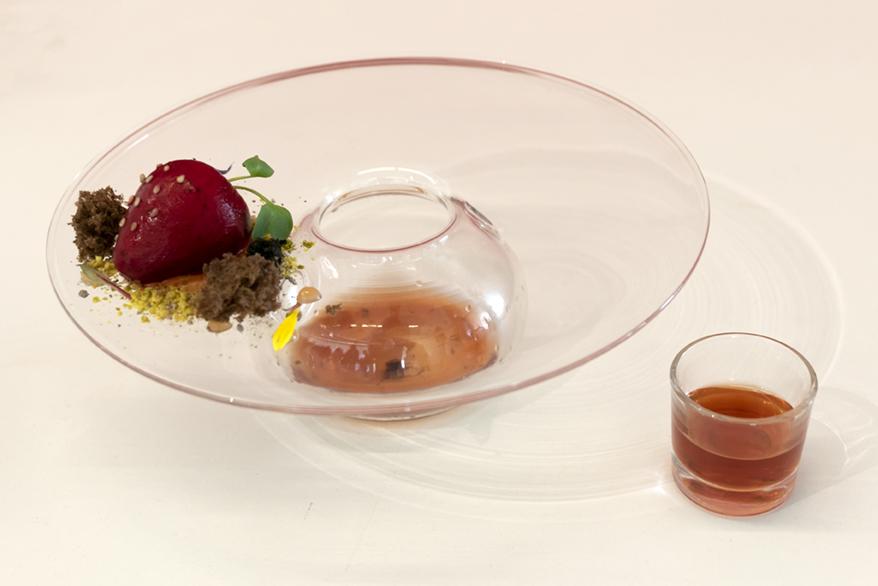 Tercer plat classificat al concurs gastronòmic valencià de la tòfona d'Andilla