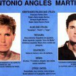 Ficha policial de Antonio Anglés.