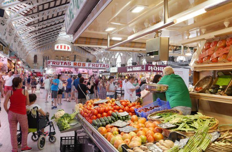 Imagen de la actividad del Mercado Central de Valencia