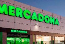 Fachada supermercado Mercadona