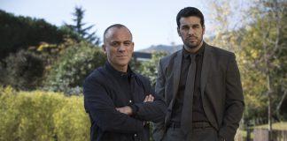 Javier Gutiérrez y Mario Casas en 'Hogar' de Netflix