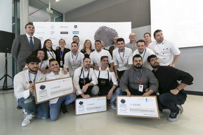 Participants del III Concurs Gastronòmic Valencià de la Tòfona d'Andilla