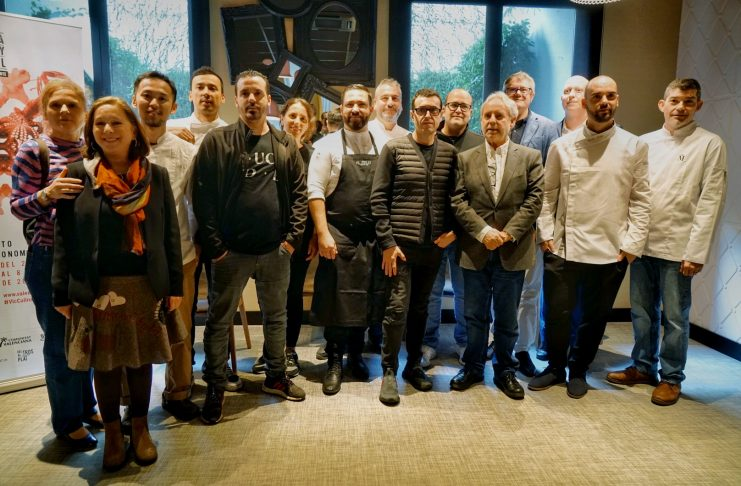 Xefs participants en la pròxima edició del festival gastronòmic