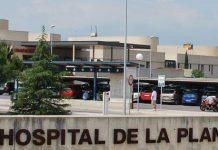 primer caso coronavirus en Hospital la Plana
