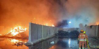incendio en Llíria