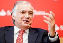 El coronavirus mata al presidente del banco Santander en Portugal