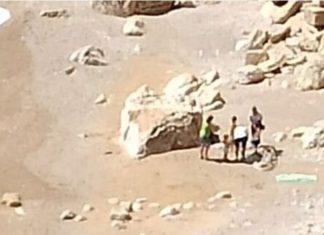 Sancionan a una familia madrileña por ir a una playa de Jávea con tres niños y la asistenta