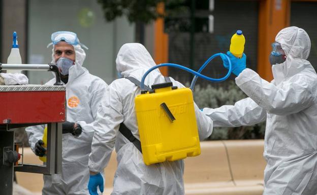 la carga viral del coronavirus