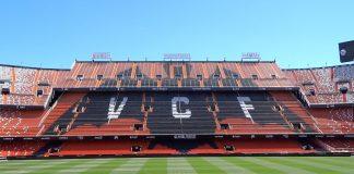 Todos los estadios de España cierran sus puertas hasta abril