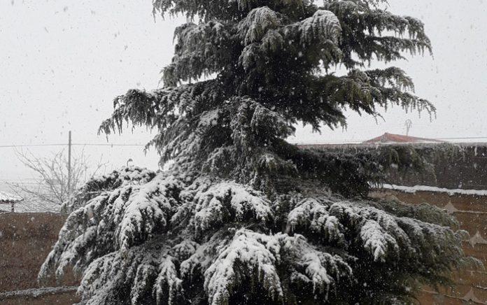 nieva en Morella