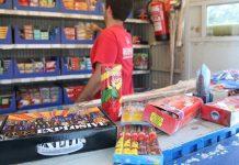 Las tiendas de petardos pierden el 75% de las ventas anuales
