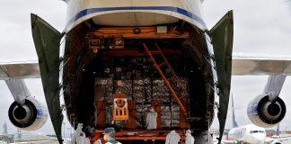 United Airlines. Aterriza un cuarto avión procedente de China con 65 toneladas de material sanitario