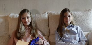 VÍDEO | Leonor y Sofía lanzan un mensaje de ánimo a los más jóvenes
