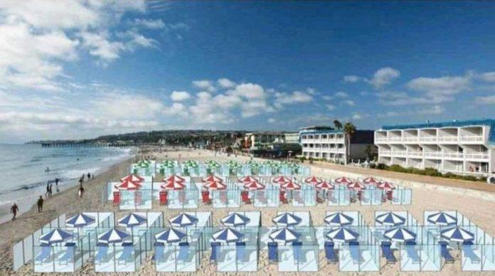 Cabinas en la playa: así podrían ser las vacaciones de verano en España