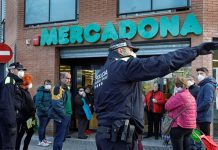 Detenido en Valencia por toser en la cara a los agentes