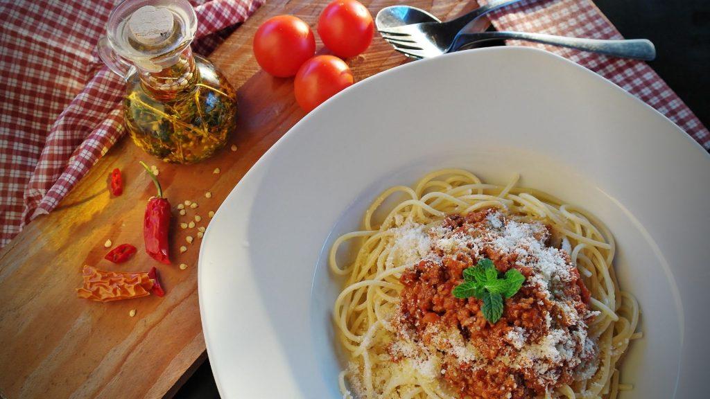 receta espaguettis