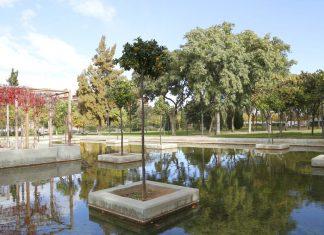 los jardines de Valencia
