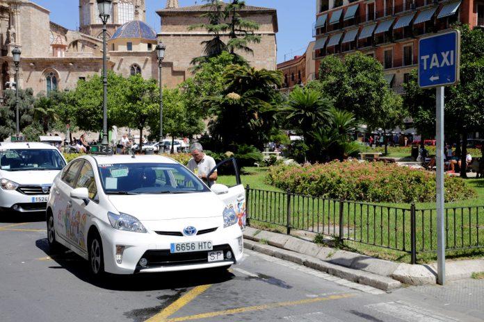 mamparas taxis