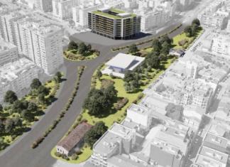 Diseño del final de la avenida Blasco Ibáñez en el Cabanyal