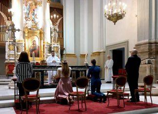 primera boda tras coronavirus