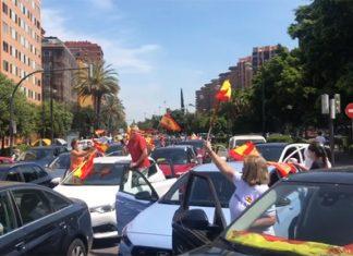 manifestación Vox