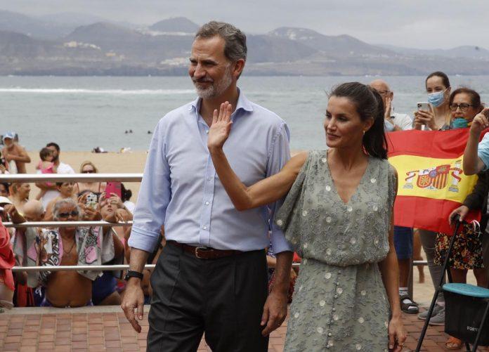 Los reyes visitarán Valencia próximamente para conocer el impacto del coronavirus. Felipe VI