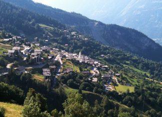 una aldea suiza