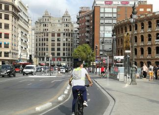 atascos calle Colón