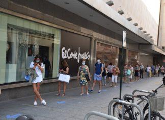 El Corte Inglés adelanta las rebajas de verano sin aglomeraciones