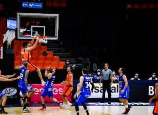 remontada del Valencia Basket