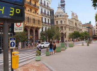 La canícula entra en Valencia y sube las temperaturas