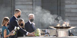 Así se ha vivido el homenaje de Estado a las víctimas del coronavirus