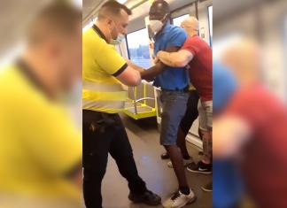 Esposan a un viajero de Metrovalencia por no llevar bien puesta la mascarilla