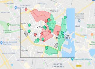 ¿Cuáles son los barrios valencianos con más riesgo de coronavirus?