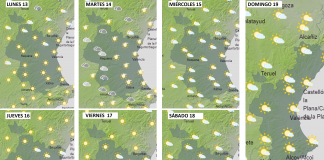 Consulta el tiempo de esta semana en Valencia