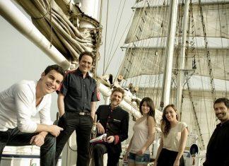 El buque-escuela Cervantes Saavedra y el Oceanogràfic presentan la Travesía Planeta Azul