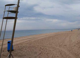 ahogado en la playa de El Saler