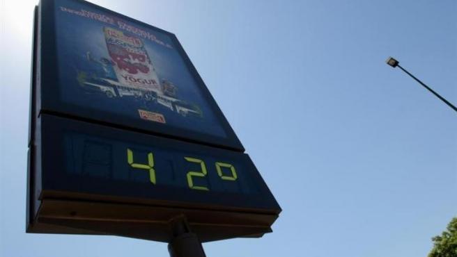 Un municipio valenciano bate el récord de temperaturas en España