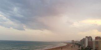 empieza a llover en la Comunitat Valenciana