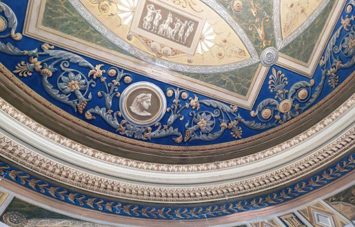 pinturas murales del Ayuntamiento