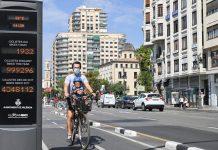 Valencia tendrá un nuevo carril bici en una transitada vía del centro